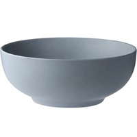 Hot selling dinnerware solid color big size soup salad mixing ceramic bowl