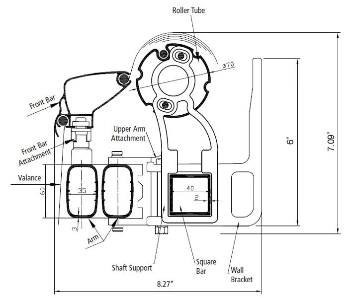 Somfy Awning Parts