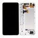mobile parts black color display touch screen with frame for microsoft for nokia lumia 650 lcd