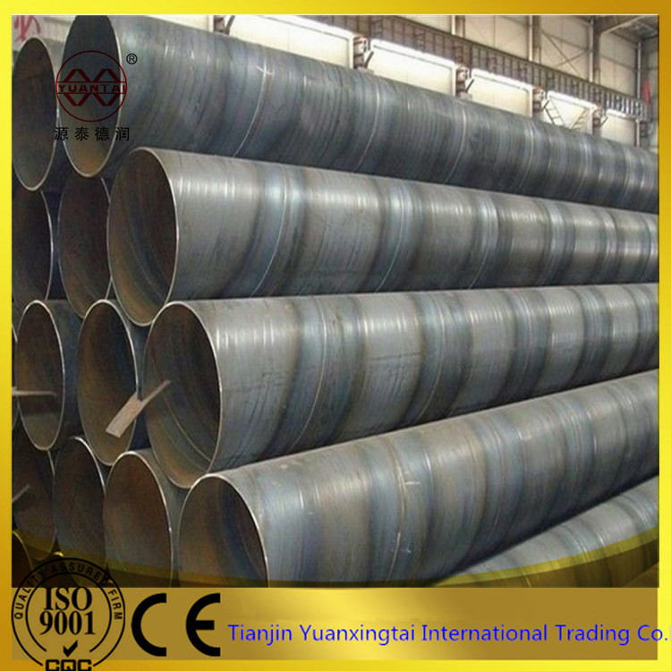 SSAW / spiral submerged arc welded steel pipe price per meter