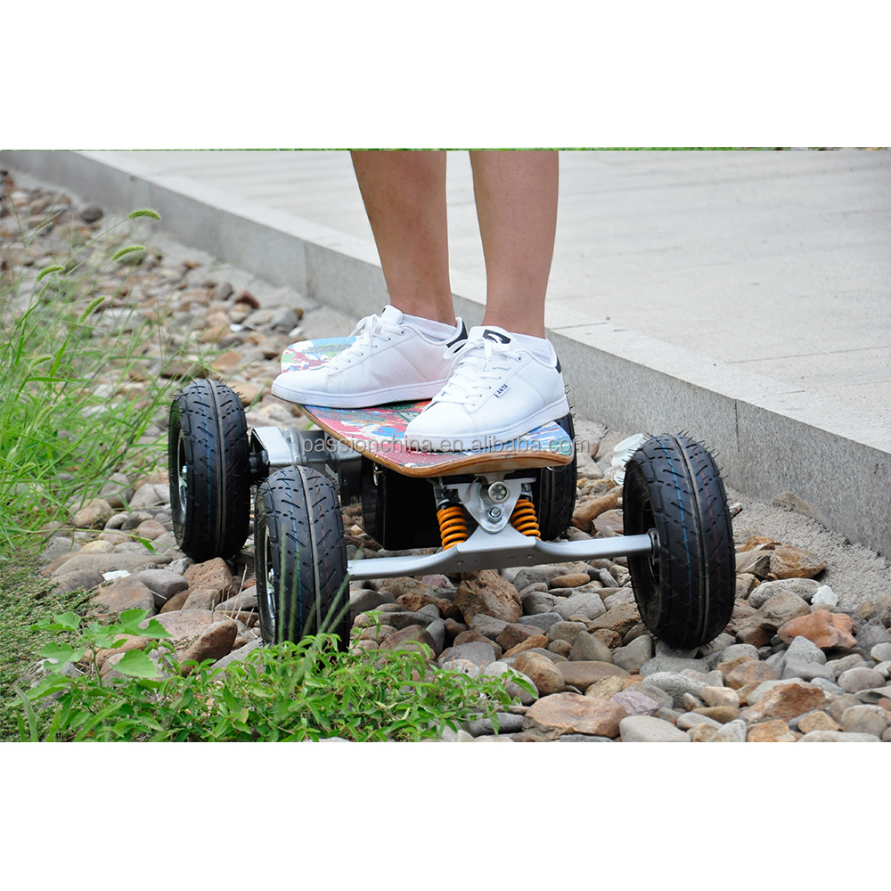 Most popular crazy high speed off road 800w electric skateboard