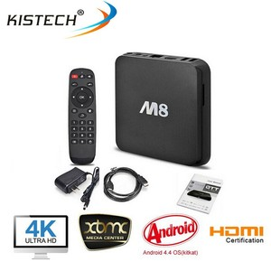 Hot sell M8 android TV Box Amlogic S802 CPU RAM 2GB ROM 8GB Bluetooth android 4.4