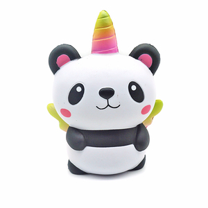 2019 New Arrival Kawaii Small Ucniorn Squishy Bear Slow Rising Toys with Wings