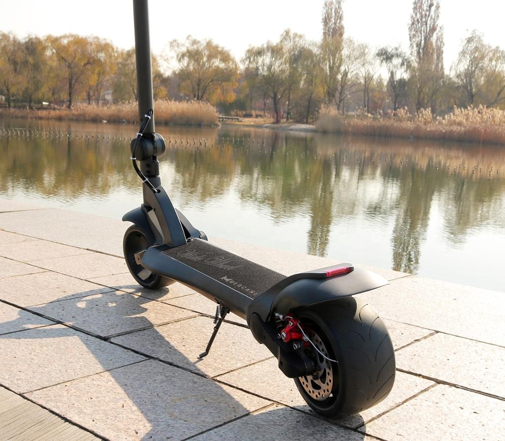 New foldable 2 wheel electric kick scooter for adults, Black