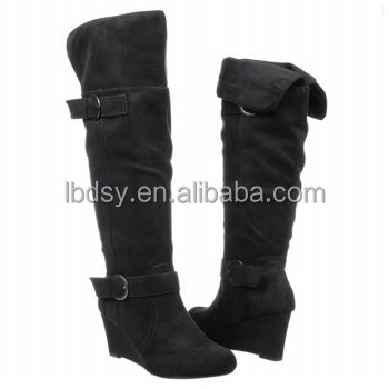 Beautiful most popular fancy long women boots high heels Quality