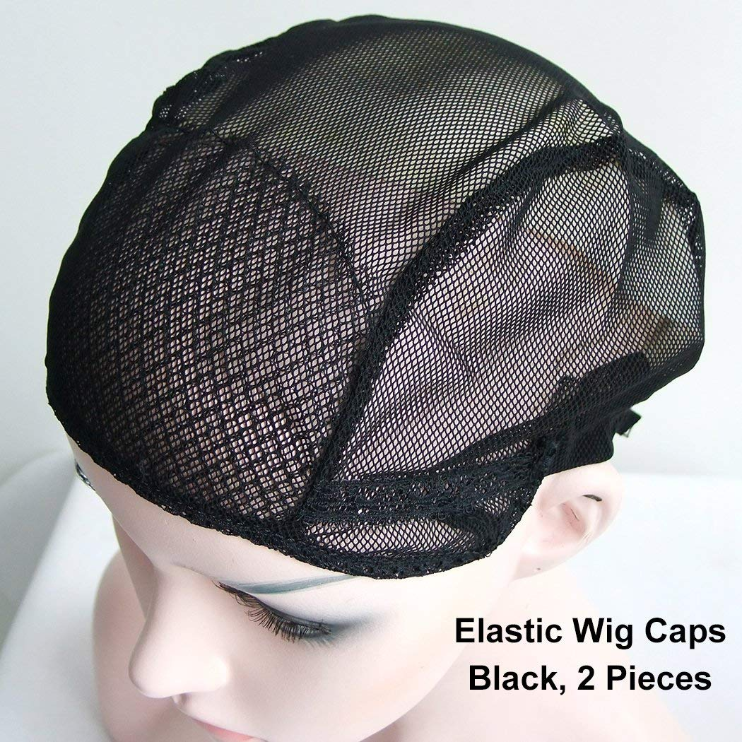 Cheap Adjustable Wig Cap Black Full, find