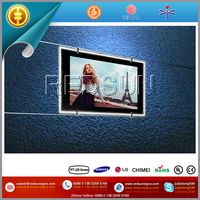 Frameless Android wall mount tv dvd player