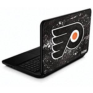 NHL Philadelphia Flyers 15.6 in 15-d038dx Skin - Philadelphia Flyers Frozen Vinyl Decal Skin For Your 15.6 in 15-d038dx
