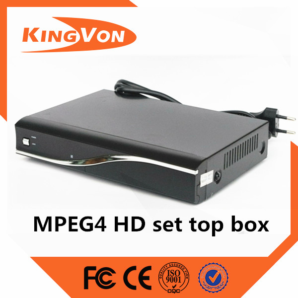 Digital cable tv set top box hision chip HD MPEG4 stanadard