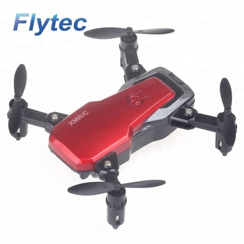 Flytec M1 Mini RC Drone Helicopter Foldable Mini Camera Drone FPV Wifi Quadcopter Drone Foldable Drones With 720P HD Camera