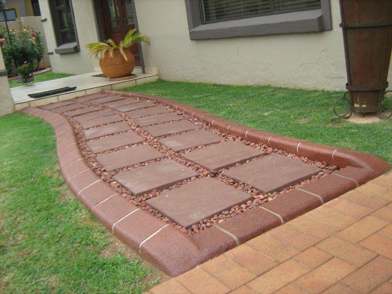 Contin a carreteras bordillos de hormig n y bordes para jardines paisajismo parking areas - Bordillos para jardines ...