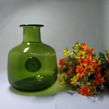 Wholesale Cheap Custom Denizli Fancy Smoked Glass Vases Flower Buy