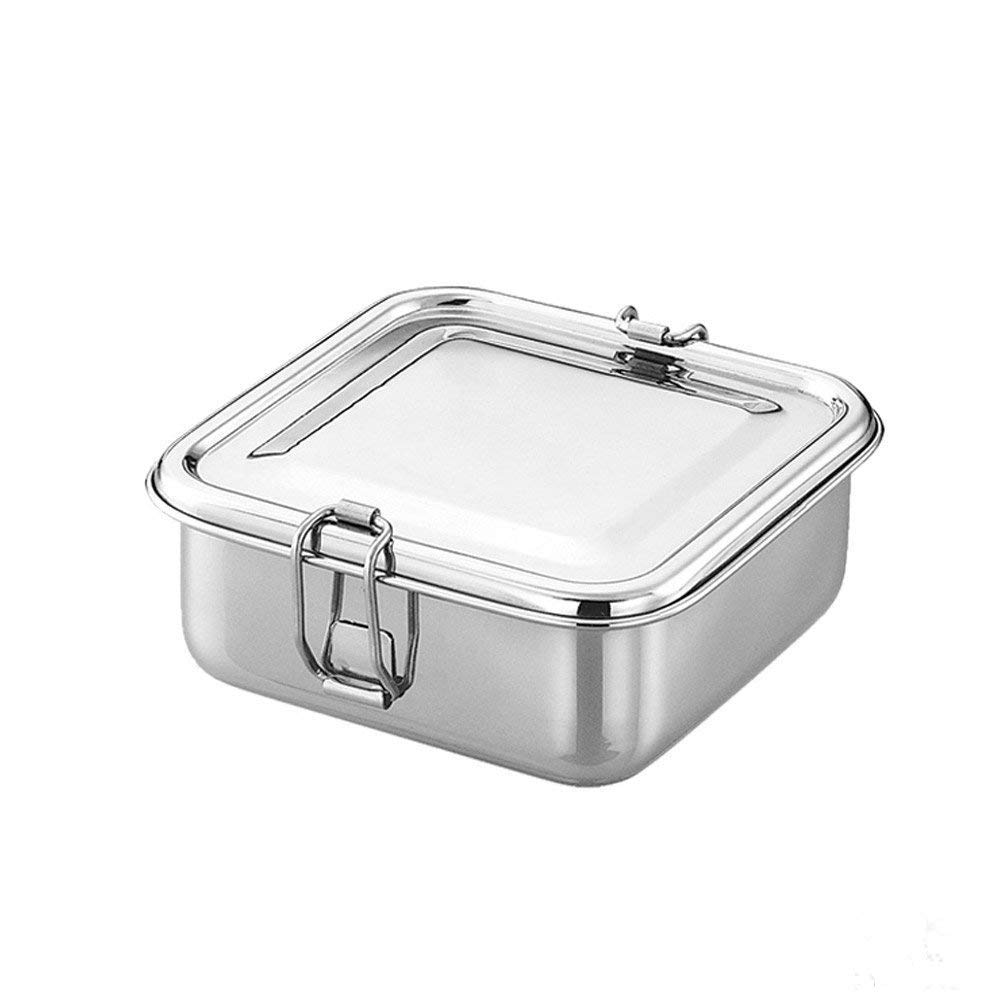 93c122dc241c Buy Qualways Stainless Steel Square Shaped Lunch box, Food Container ...