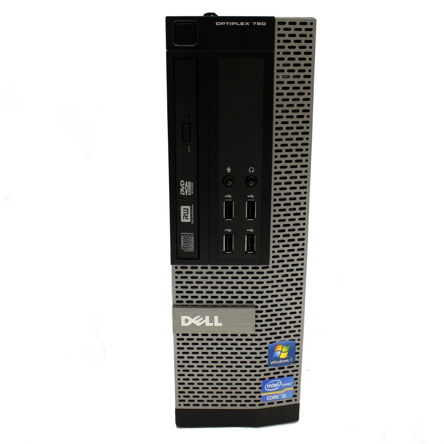 Dell OptiPlex 790 SFF Desktop PC - Intel Core i3-2120 3.3GHz 4GB 250GB DVDRW Windows 7 Pro (Certified Refurbished)