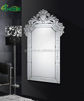 Rectangle Elegant Crown Handmade Design Wall Venetian Mirror Buy Venetian Mirror Wall Mirror Decorative Mirror Product On Alibaba Com