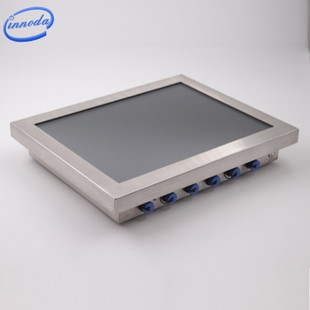 Edelstahl 15-Inch Industrielle Wasserdichte Touch Screen Pc IP67 Outdoor Computer
