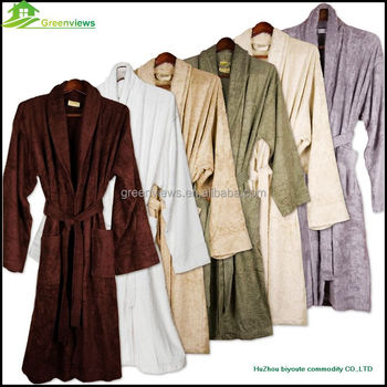 Bamboo Robe Egyptian Cotton Bath Terry Cloth Robes Whole Embroidered Manufacturer Of Bathrobe