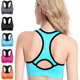 Padded Seamless High Impact Support Gym Workout Fitness Activewear Racerback Yoga Sports Bra