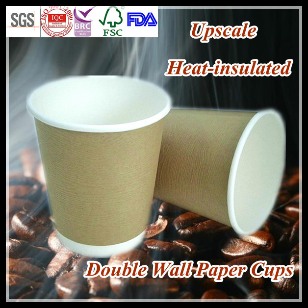 Manufacturing Double Wall Paper Cup For Coffee