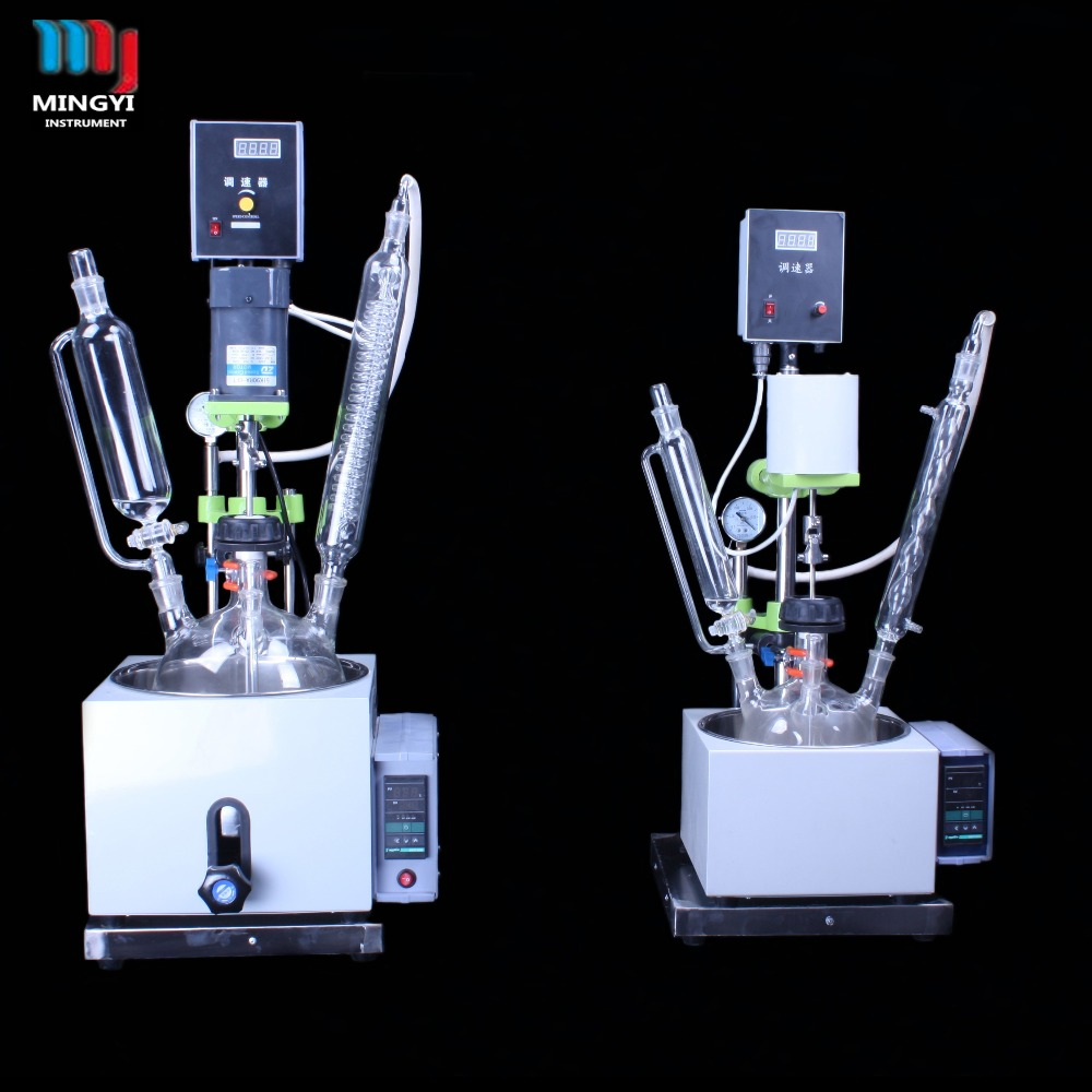 1-5l lab chemical batch reactor with durable function