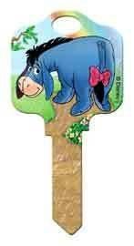 Eeyore Schlage SC1 House Key Disney