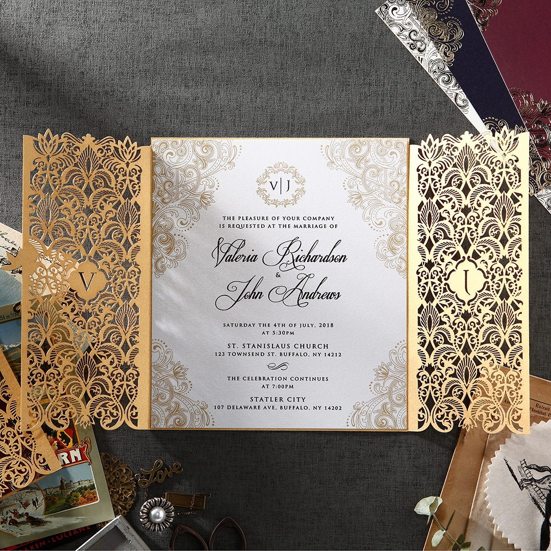 Luxury Wedding Invitations.Hot Selling Die Cut Invitation Covers Wedding Invitation Card Luxury Buy Wedding Invitation Card Luxury Wedding Invitation Card Die Cut Invitations