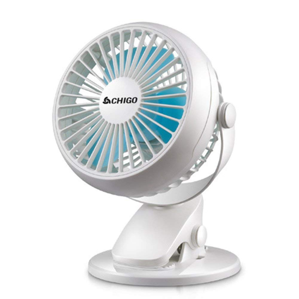USB Clip Desk Personal Fan table fans clip on fan 2 in 1 Applications Strong Wind 3 Inch 2 Speed Portable Cooling Fan USB Powered by NetBook, PC