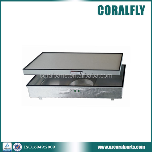 Coralfly hepa filter H14 U15 high efficiency FFU fan filter unit