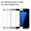 Promotion 0.26 0.33mm 9H anti-shock tempered glass mobile phone screen protector for Samsung galaxy s7 edge plus glass curved