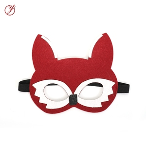 Newest Fashion Multi-color fancy fox face Mask for Festive & Party