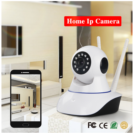 Security & Protection Hospitable 720p Wifi Panoramic Camera 360 Degree Fish-eye Smart Home Security Surveillance Baby Monitor Webcam Wireless Night Vision Camera Modern Design Video Surveillance
