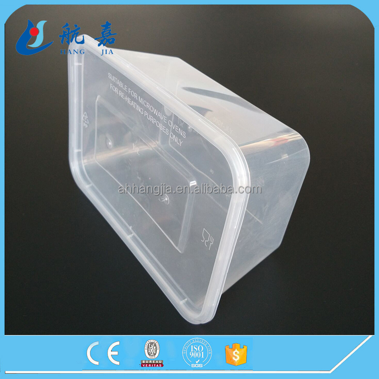 OEM custom size disposable clear plastic salad bowl