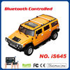 Ipod Iphone Ipad and android controlled R/C Hummer car