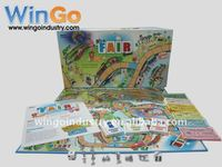 Custom Educational board Game set manufacturer in China, made by WinGo