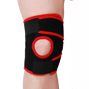 cf11bf75e2 1 PC Professional Sports Safety Knee Support Black Knee Pads Guard  Protector Knee Brace