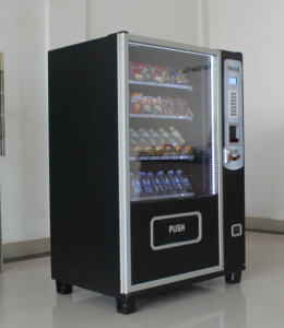 Hot Sale Candy Soda Beverage Automatic Combo Vendor Machine