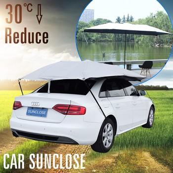 Sunclose Factory Car Blanket Cover Canadian Tire Shelter Flash Led Umbrella