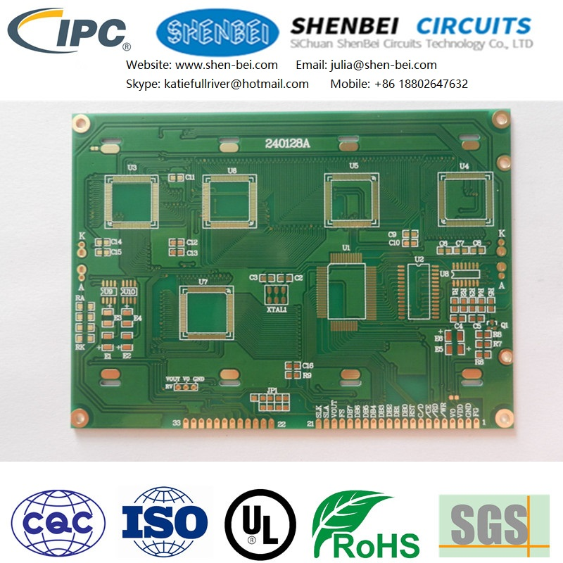PCB for chassis power supply, mouse and keyboard, hard disk drive