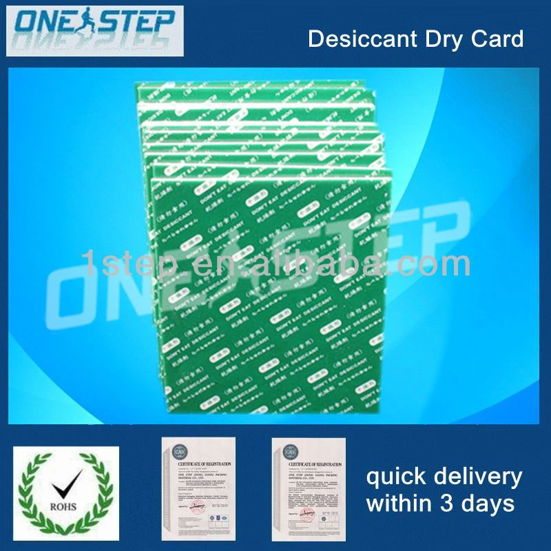 desiccant dry card in IC