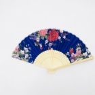 Chinese personalized silk hand fan bamboo satin hand fan