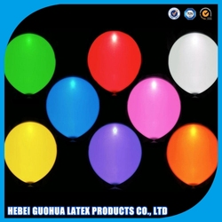 Factory wholesale party decoration light up balloon colorful flashing as neon new led latex balloon