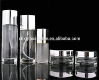 High Quality 30Ml~120Ml Cosmetic Empty Glass Packaging Bottle And Jar Manufacturer Cream Jar Lotion Toner Bottle Printing