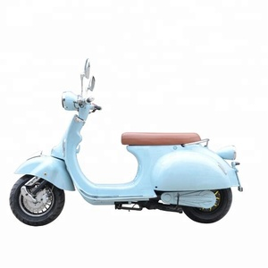 EEC Classic Vespa Style 2000w Electric Motorcycle with EEC COC Certificate