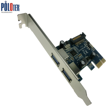 Superspeed 5gbps 2 Ports Usb 3.0 Pci Express Card Pcie With Low ...