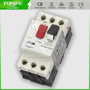GV2 motor protection circuit breaker,thermally protected motor,motor protection switch