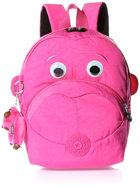 37b791971b Get Quotations · Kipling Fast Kids Backpack Carmine Pink