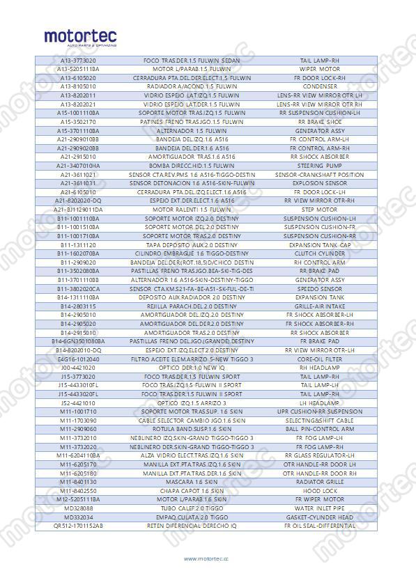 कार CHERY गैसकेट-सिलेंडर सिर 372 के लिए, 372-1003040