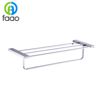 FAAO Durable Brass body metal bar shelves for Apartment Decoration