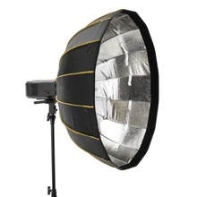 Stijve Draagbare Quick Opvouwbare Softbox Diffuser Speedbox EZ Lock Inklapbare Zilver Beauty Dish met <span class=keywords><strong>Bowens</strong></span> <span class=keywords><strong>Mount</strong></span> Adapt