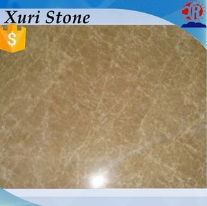 Laminated emperador light marble bathroom countertop